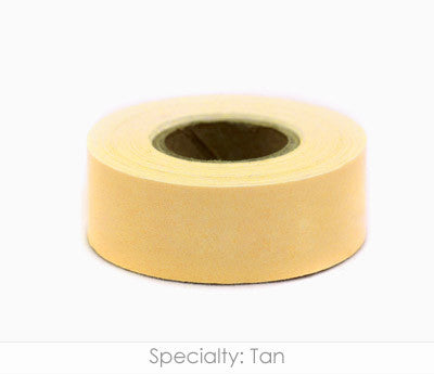 "1"" Removable Tan Labeling Tape"