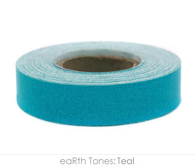"0.5"" Removable Teal Labeling Tape"