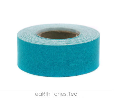 "1"" Removable Teal Labeling Tape"
