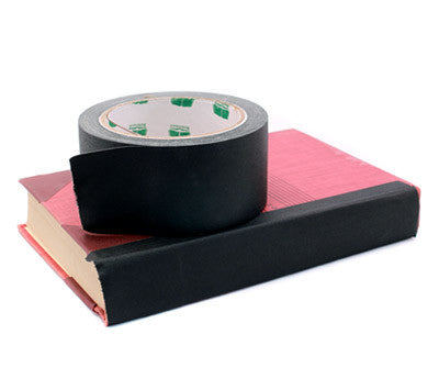 "2"" Black Book Binding Tape"