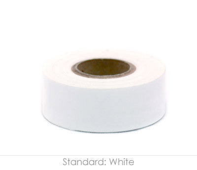 "1"" Removable White Labeling Tape"