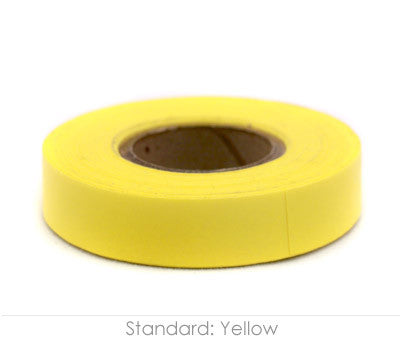 "0.5"" Removable Yellow Labeling Tape"