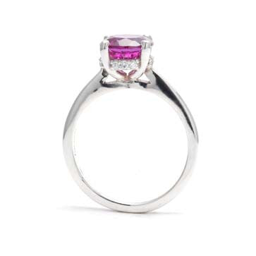 Ladies Created Alexandrite Ring
