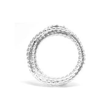 Ladies Wire Wrapped Diamond Fashion Ring