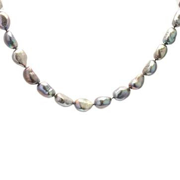 Ladies Black Freshwater Pearl Strand