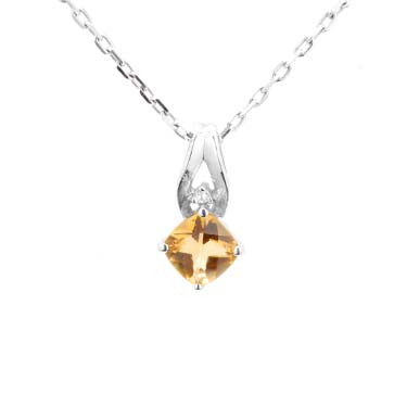 Ladies Citrine Pendant