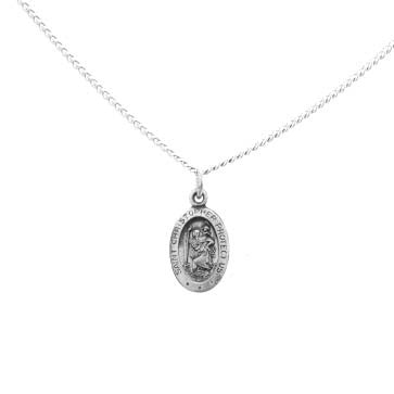 Small Saint Christopher Pendant