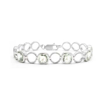 Ladies Green Quartz Bracelet