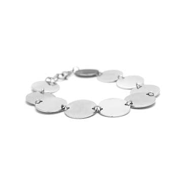 Ladies Disc Bracelet