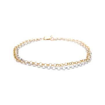 Ladies Two-Tone Bracelet