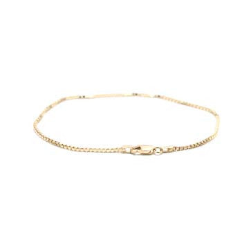Ladies Box Chain Bracelet