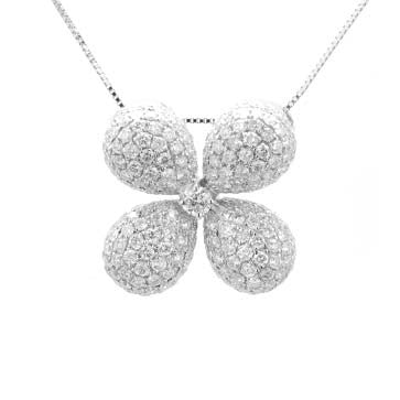 Ladies Diamond Pave Pendant