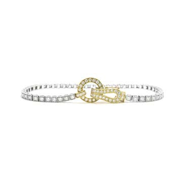 Ladies Two-Tone Diamond Bracelet