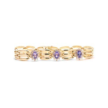 Ladies Tanzanite Bracelet