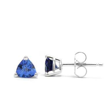 Synthetic Tanzanite Earrings