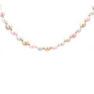 Ladies Pastel Freshwater Pearls