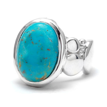 Ladies Turquoise Ring