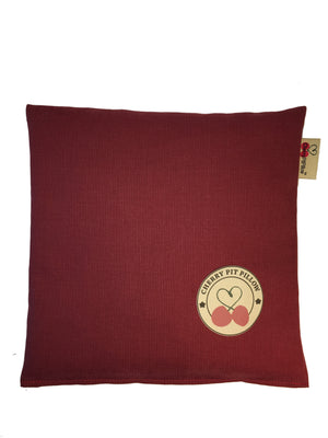 Cherry Pit Pillow - LOVE: Mind.Body.Soul