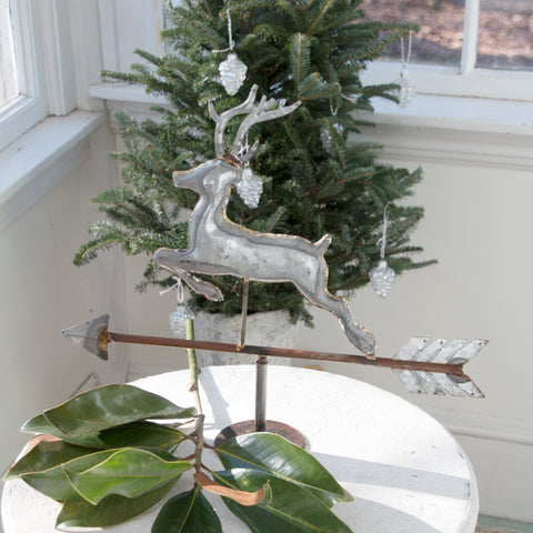 Reindeer Weathervane, decorative