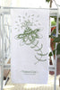 Botanical Bursting Flower Tea Towel