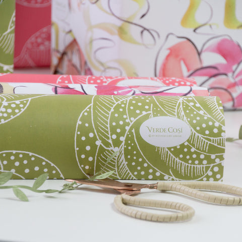 Pink Peony - wrapping paper #1