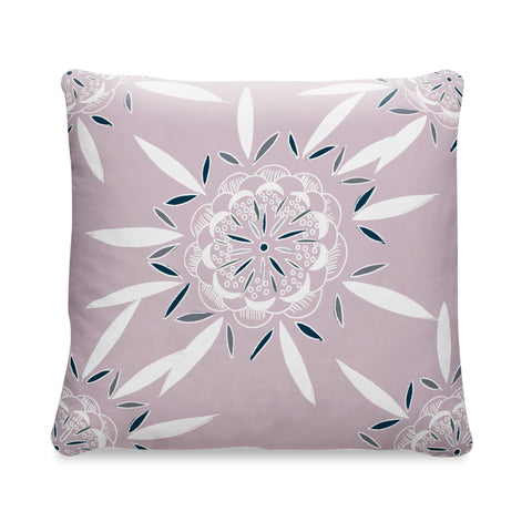 PINK PILLOW - BURSTING FLOWERS GRANDE - Dusty Pink