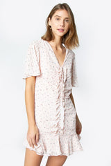 Amalfi Ruched Floral Dress