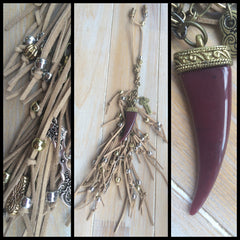 Long Horn Purse Chain