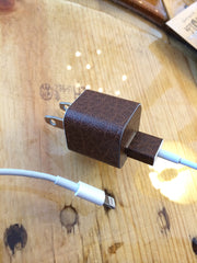 PT i5 Charger Cable Brown Leather