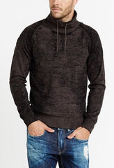 Wintell Burnout Cowl Neck Sweater