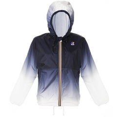 K-Way Claude Blue/White Ombré Rain Jacket