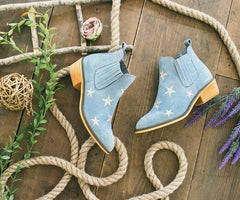 Blue Star Bootie