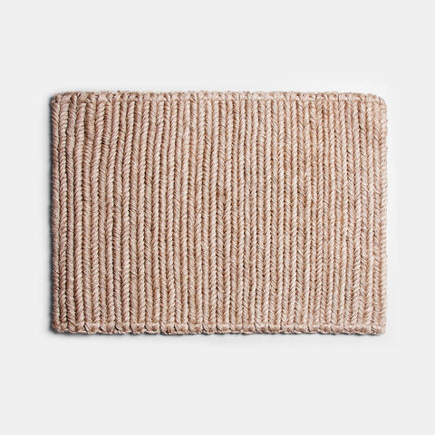 Someware Braided Doormat - Wheat