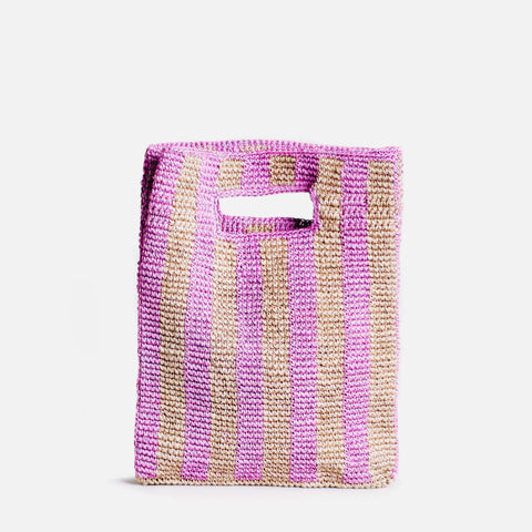 Provence Bag - Lilac Stripe - Someware