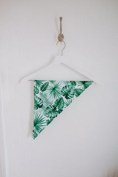 TROPICAL PRINT DOG BANDANA