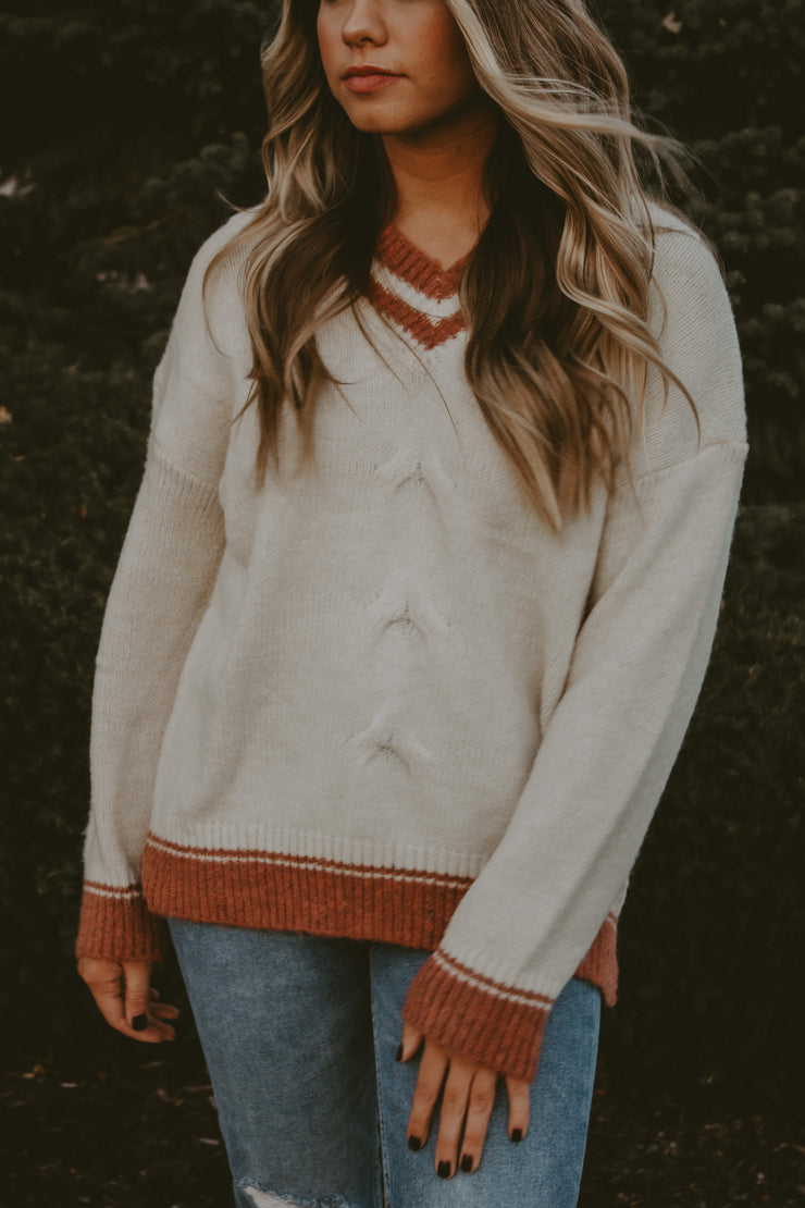 UNIVERSITY KNIT SWEATER