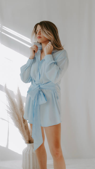 BRYSTOL BUTTON DOWN SHIRT DRESS