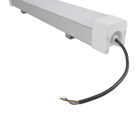 Weatherproof IP65 Non-dimmable LED Linear Batten 2 FT / 3 FT / 4 Ft /5 FT in Aluminum + PC Housing- Model B