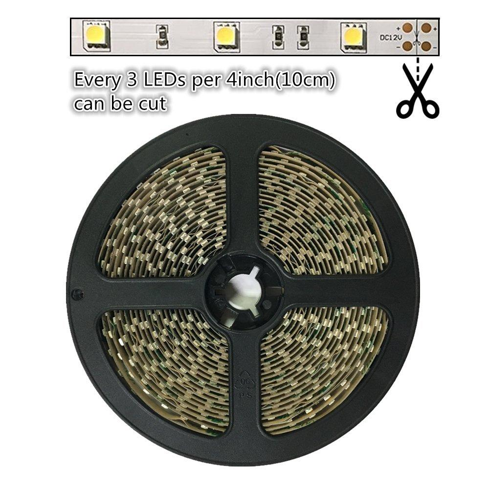 DC 12V 10mm Width Dimmable SMD5050-150 Flexible LED Strip lights
