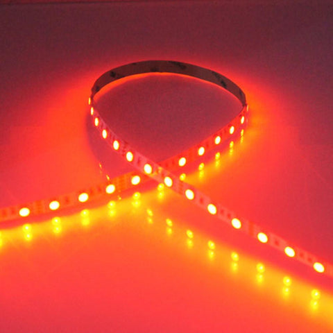 Image of 8mm Width Red/Blue/Yellow/Green Dimmable SMD2835-300 12V LED Tape Light