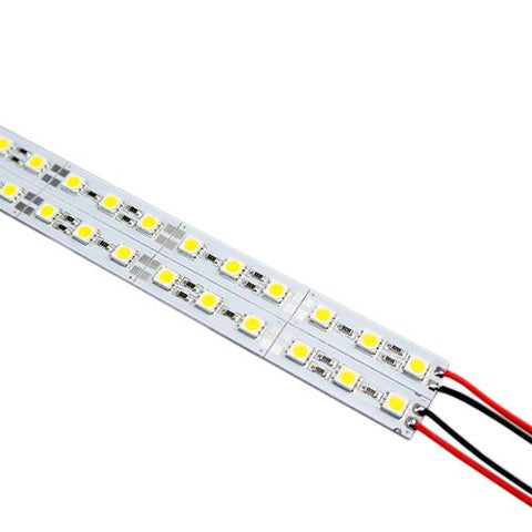 Image of 5 / 10 Pack SMD5050 Rigid Non-Waterproof LED Light Bar With 72LEDs per meter