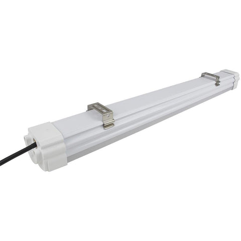 Weatherproof IP65 Non-dimmable LED Linear Batten Aluminum + PC Housing- Model A