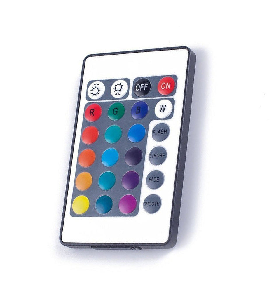4-pin 24Key DC12V-24V LED IR Remote Controller for RGB LED Strip Lights
