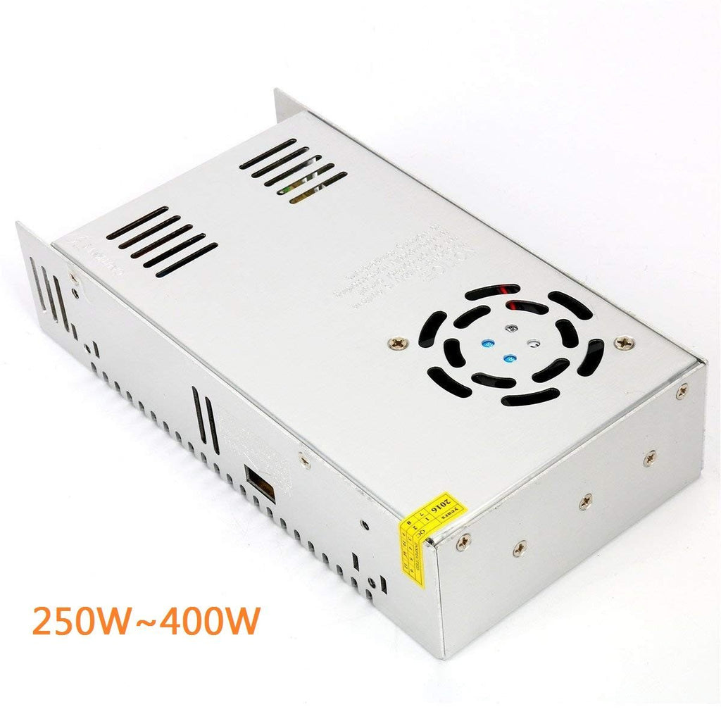 Heavy Duty Industrial Series Metal House Screw Terminal Adapter 110-220V AC to 12V/24V/5V DC