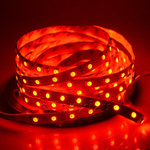 Image of SMD5050-150 RGB Color Change Tri-Chip Flexible LED Strips 30 LEDs Per Meter 10mm Width