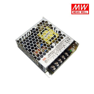 MeanWell UL Listed AC/DC (5V/12V/24V) Enclosed Single Output Switching Power Supply