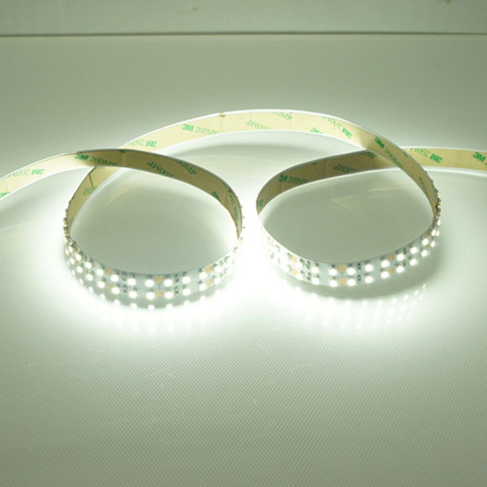 High CRI > 90 DC 12V 15mm Width SMD3528-1200 Double Row Flexible LED Strips