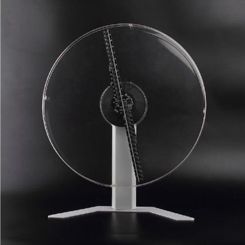 Image of 43cm WIFI APP Control 3d holographic led fan Unique Design with Slim Protective Cover