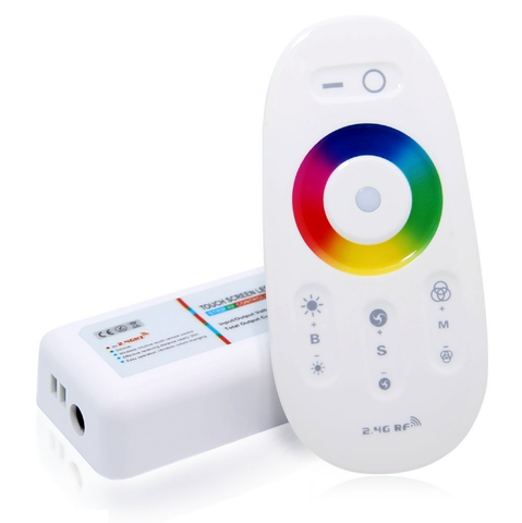 Image of 12V-24V DC 2.4G RF Wireless RGB LED Controller