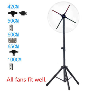 Floor Standing Frame for 3D Hologram Fan LED Display